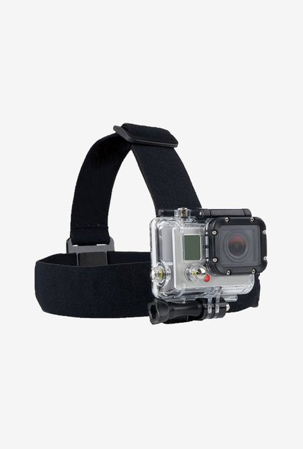 Xit XTGPHS GoPro Hero 3/3+ Cameras Head Strap (Black)