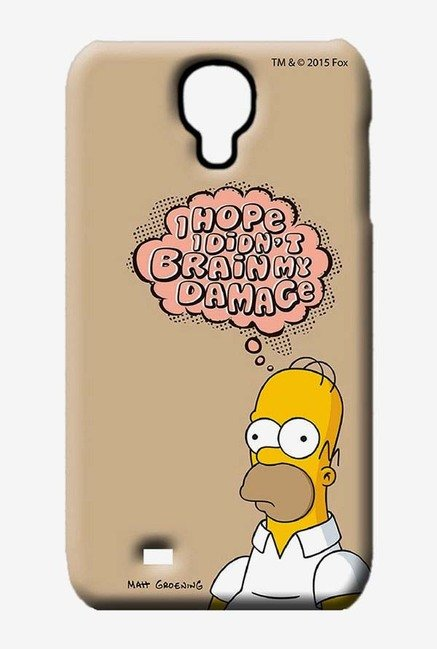 Simpsons Brain Humour Case for Samsung S4