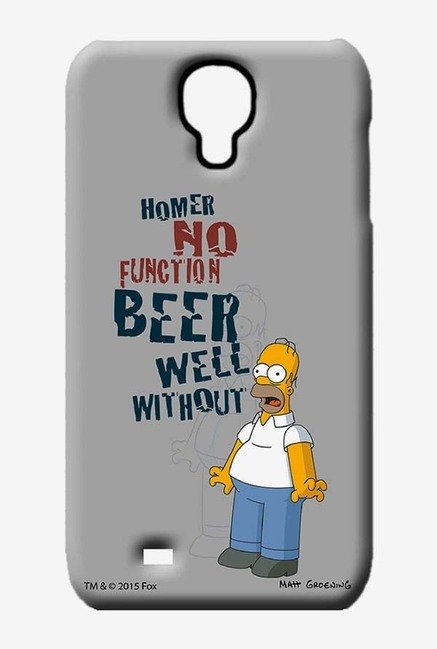 Simpsons Homers Poison Case for Samsung S4