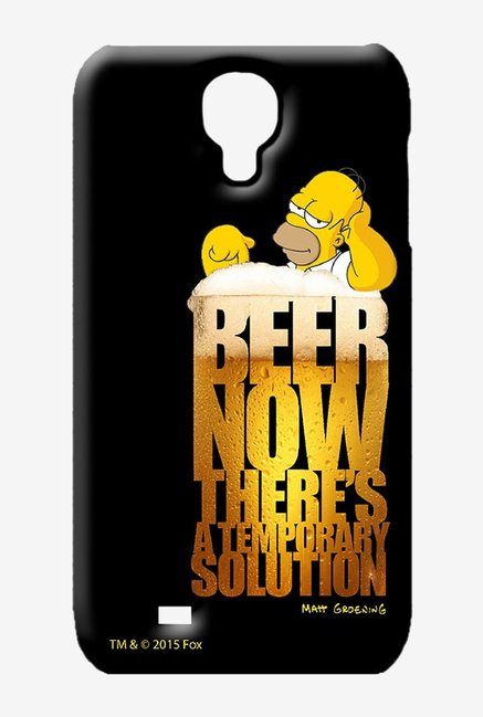 Simpsons The Beer Solution Case for Samsung S4