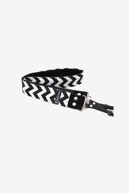 Capturing Couture SLR15-CVBK Camera Strap (Black/White)
