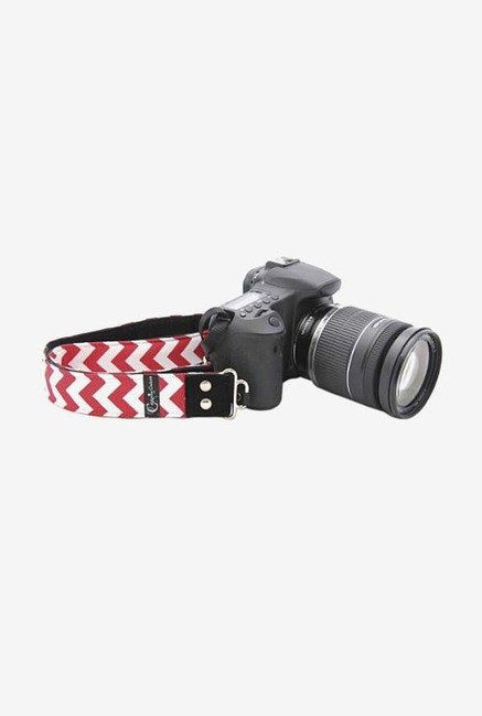 Capturing Couture SLR15-CVRD Camera Strap (Red/White)