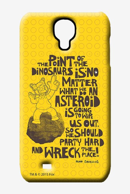 Simpsons The Dinosaur Theory Case for Samsung S4