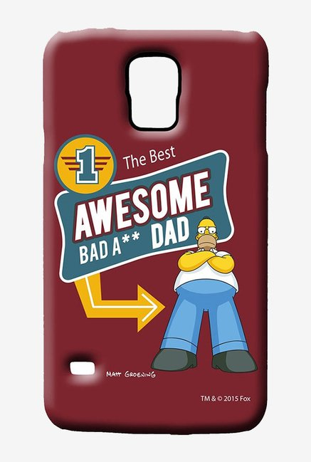 Simpsons Awesome Dad Case for Samsung S5