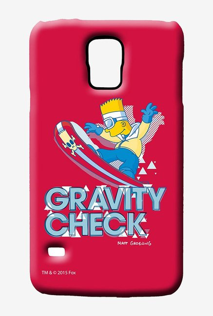 Simpsons Gravity Check Case for Samsung S5