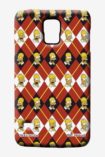 Simpsons Homer Moods Case for Samsung S5