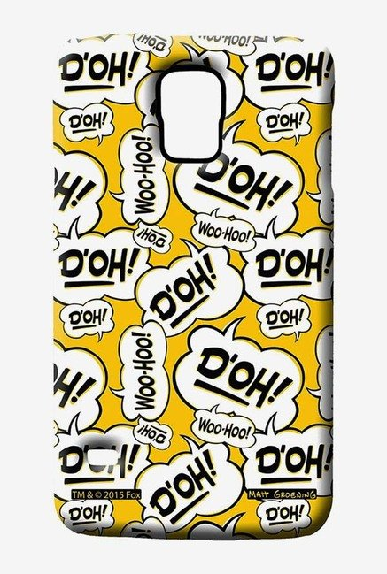 Simpsons Random Expressions Case for Samsung S5