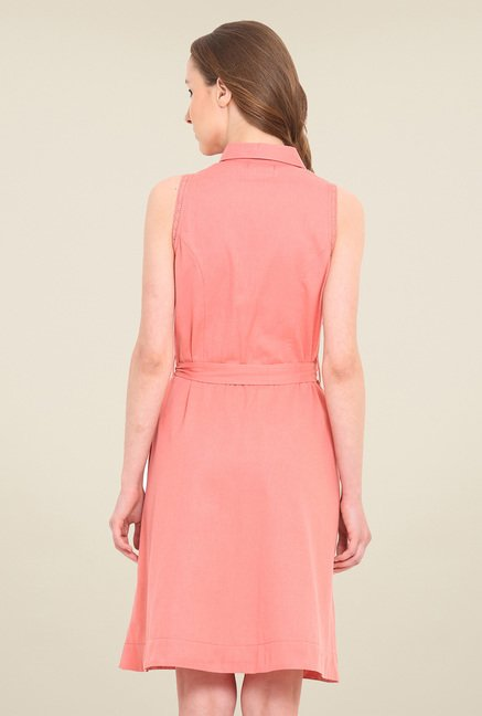 Saiesta Coral Solid Dress