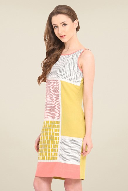 Saiesta Multicolor Printed Dress
