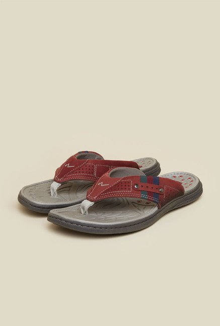 Da Vinchi by Metro Red Thong Sandals
