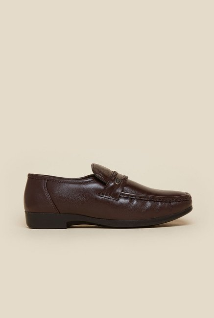 Metro Maroon Formal Loafers