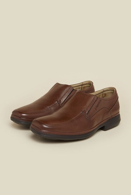 J. Fontini by Mochi Tan Formal Loafers