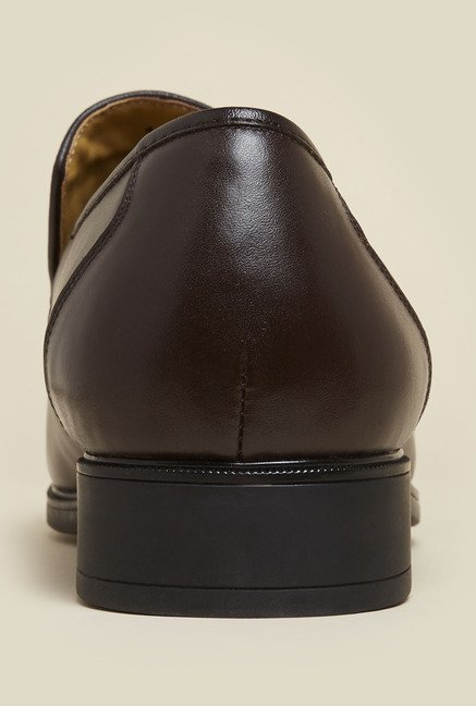 J. Fontini by Mochi Brown Formal Loafers
