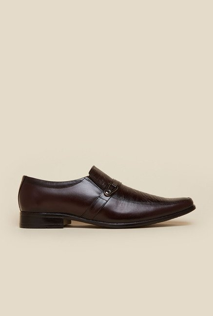 Metro Brown Formal Shoes