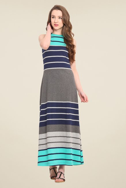 Saiesta Multicolor Striped Dress