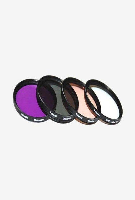 Polaroid PL-4FIL-55 55mm 4 Piece Filter Set