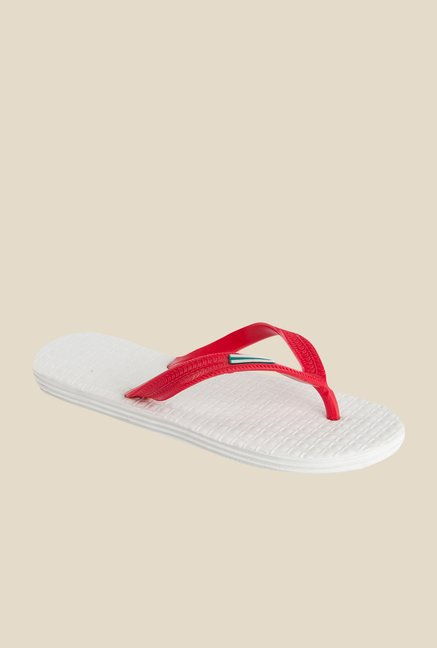 Spice Boost Red & White Slippers