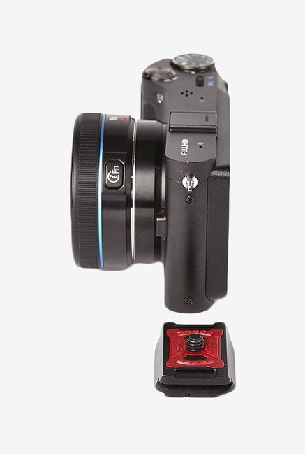 Peak Design PL-M1 MICRO Plate Camera Clip (Black/Red)