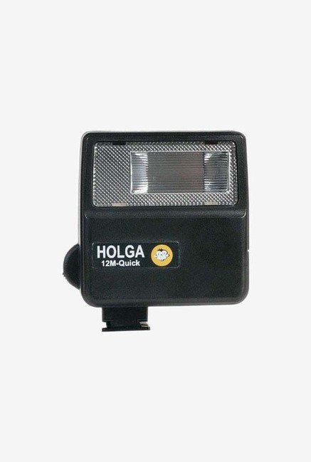 Holga 287120 12Mq Electronic Quick Flash (Black)