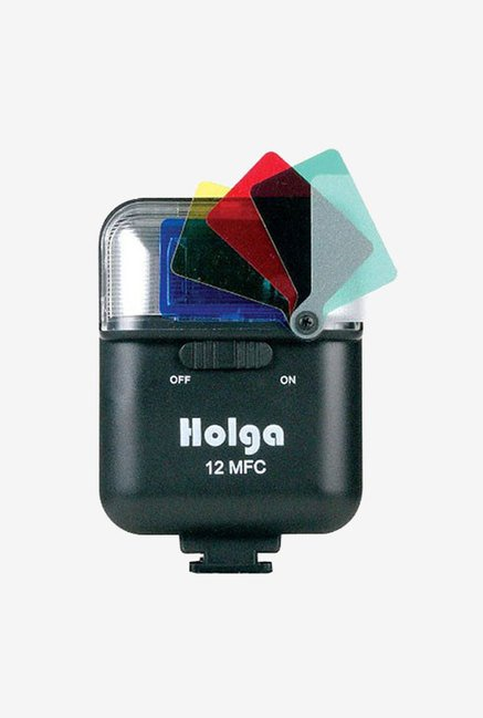 Holga 288120 Electronic Flash 12Mfc (Black)