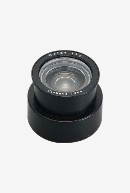 Holga 201135 Plastic Fisheye Lens for 135 Camera (Black)