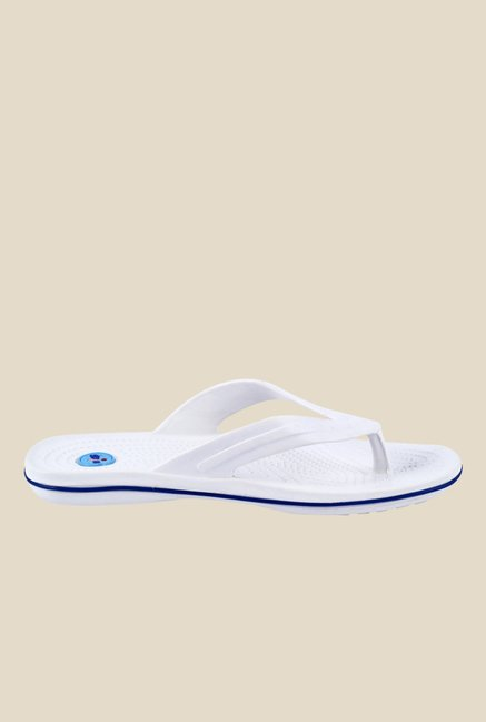 Spice Glider White Slippers
