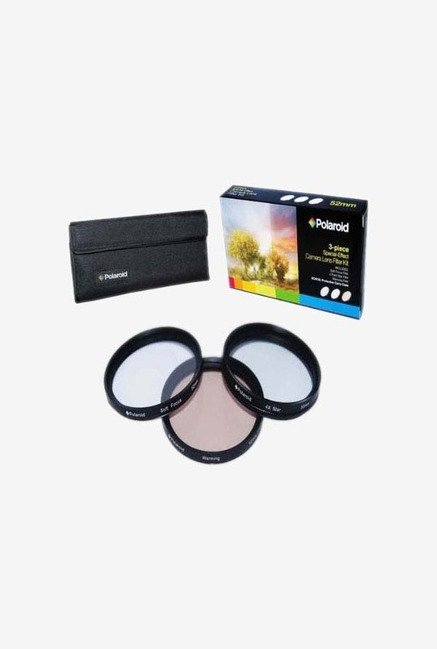 Polaroid PL-FIL3FX52 52mm 3 Piece Special Effect Filter Kit