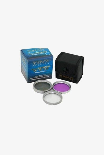 Rokinon 37mm 3 Piece Filter Kit (Black)
