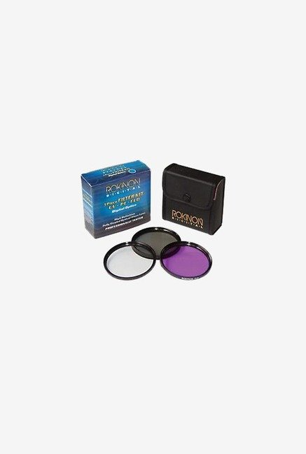 Rokinon 55mm 3 Piece Filter Kit (Black)