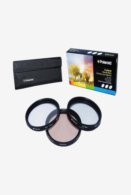 Polaroid PL-FIL3FX62 62mm 3 Piece Special Effect Filter Kit