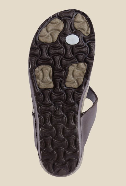 Spice Bistro Brown Thong Sandals