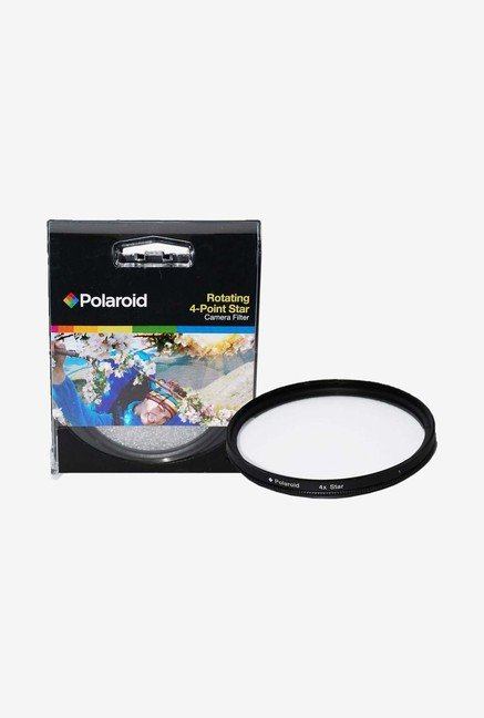 Polaroid PL-FILST437 37mm Rotating 4 Point Star Filter