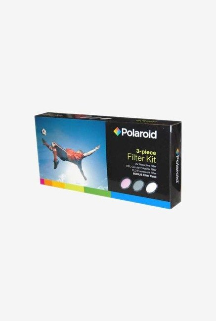 Polaroid PL-3FIL-110 3 Piece Filter Set (UV, CPL, FLD)