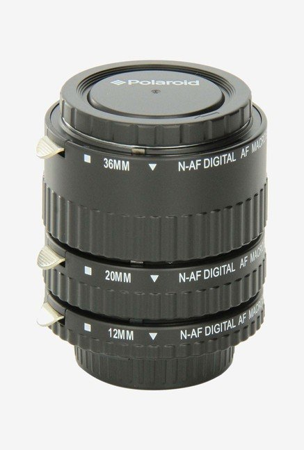Polaroid PLEXTN Auto Focus Dg Macro Extension Tube (Black)