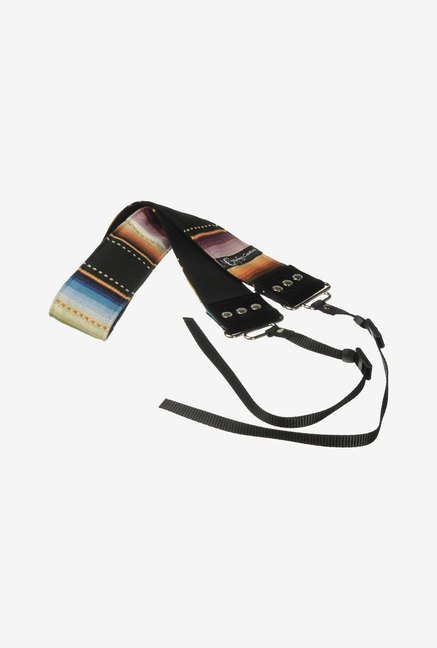 Capturing Couture SLR20-PLHP Navajo Camera Strap (Black)