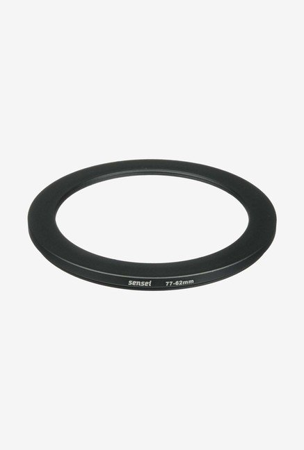 Sensei SDR7762 77-62mm Aluminium Step-Down Ring (Black)