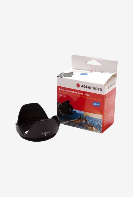 Zeikos Agfa 52 mm Professional Deluxe Hard Lens Hood (Black)