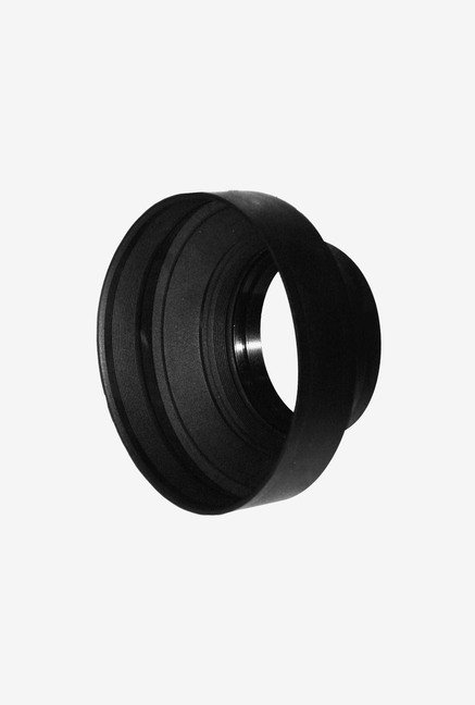 Zeikos Agfa 77 mm Heavy Duty Rubber Lens Hood (Black)