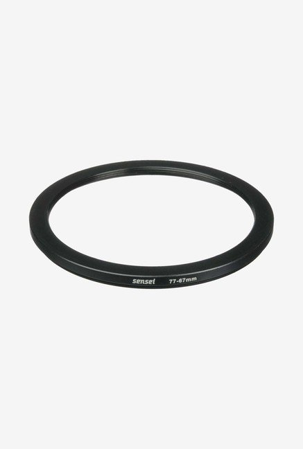 Sensei SDR7767 77-67mm Aluminium Step-Down Ring (Black)
