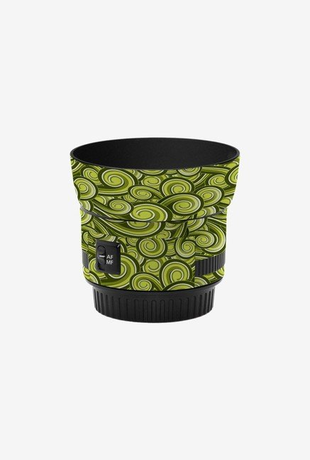 LensSkins Skin for Canon 50mm f/1.8 II Lens (Green Swirl)