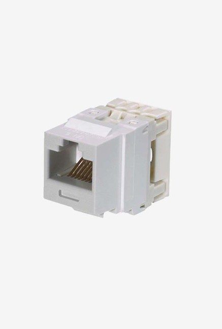 Panduit NK688MEI Category-6 8-Wire Jack Module (Ivory)