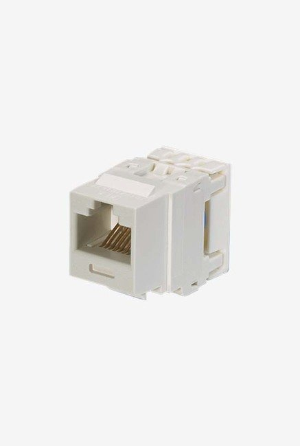 Panduit NK688MWH Category-6 8-Wire Jack Module (White)