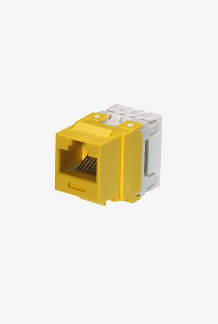 Panduit NK688MYL Category-6 8-Wire Jack Module (Yellow)
