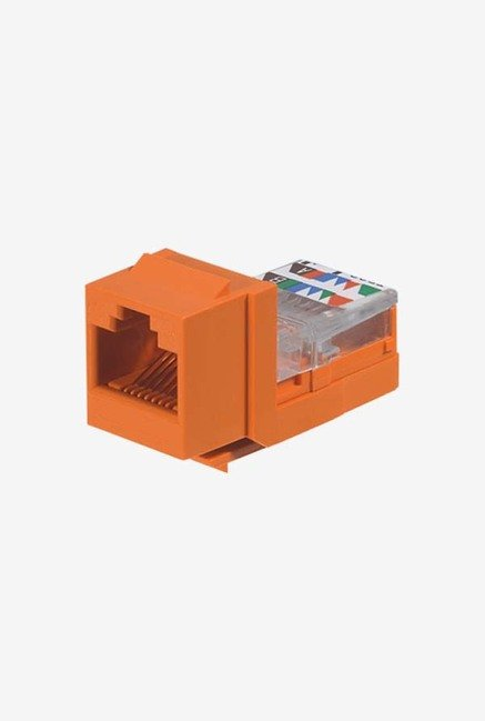 Panduit NK5E88MORY Category-5E 8-Wire Jack Module (Orange)