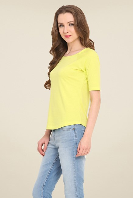 Saiesta Yellow Solid Top