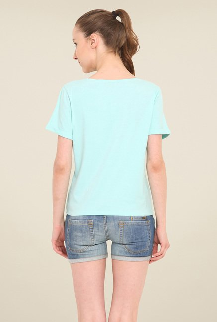 Saiesta Turquoise Solid Top