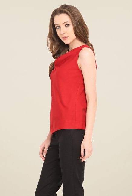 Saiesta Red Solid Top