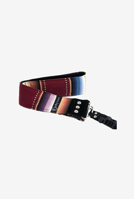 Capturing Couture SLR20-PLHP Navajo Camera Strap (Red)