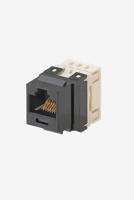 Panduit NKP5E88MBL Category-5E 8-Wire Jack Module (Black)