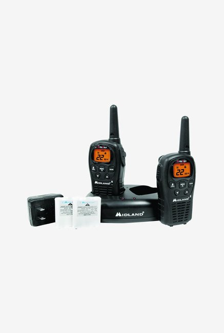 Midland LXT500VP3 22-Channel GMRS with 24-Mile Range (Black)